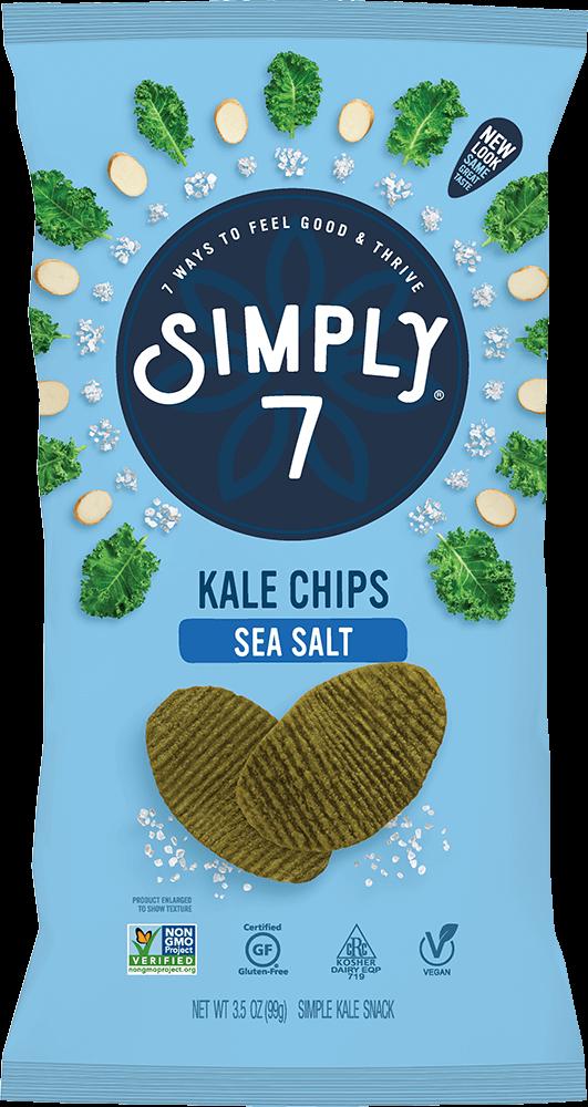 Sea Salt Kale Chips