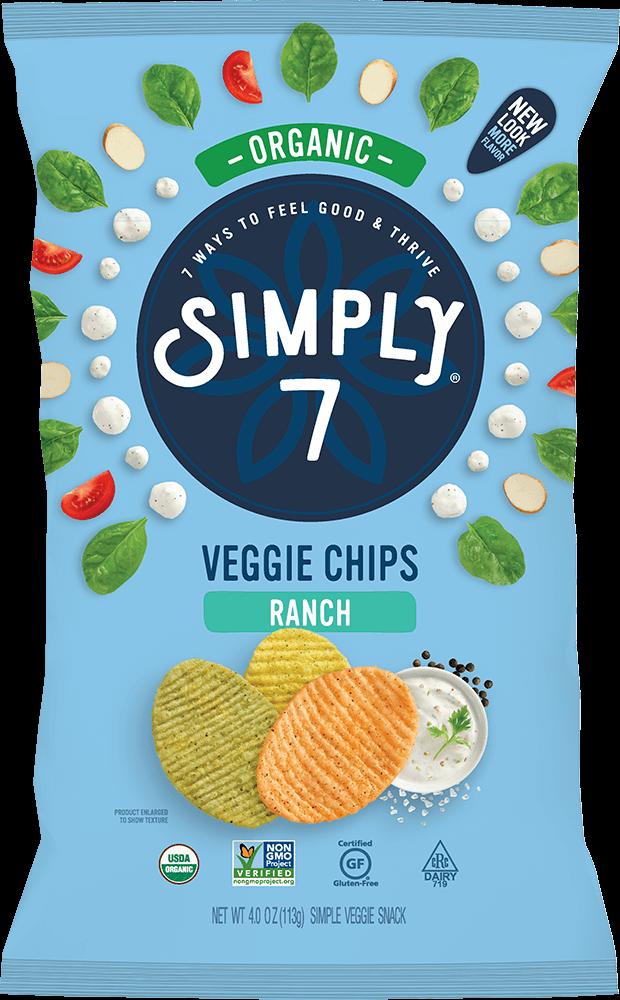 Ranch Organic Veggie Chips