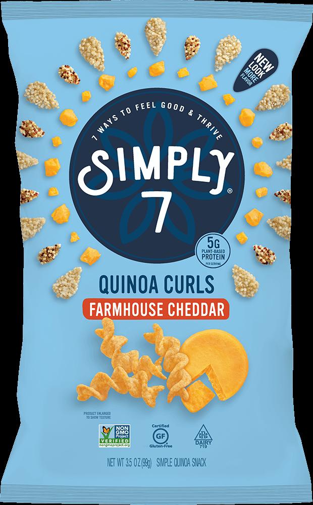 Farmhouse Cheddar Quinoa Curls