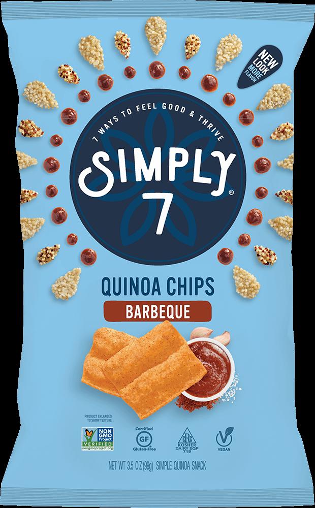 Barbeque Quinoa Chips