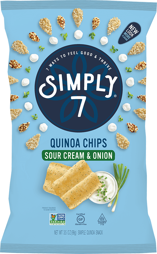 Sour Cream & Onion Quinoa Chips
