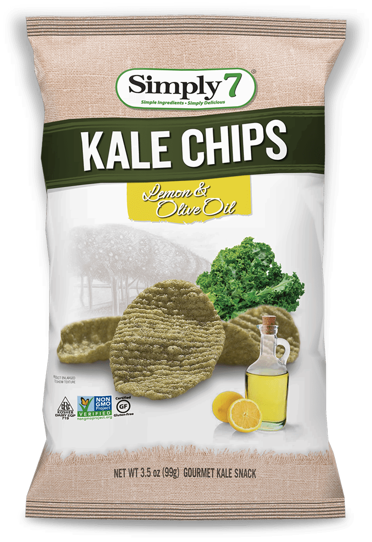 Lemon & Olive Oil Kale Chips
