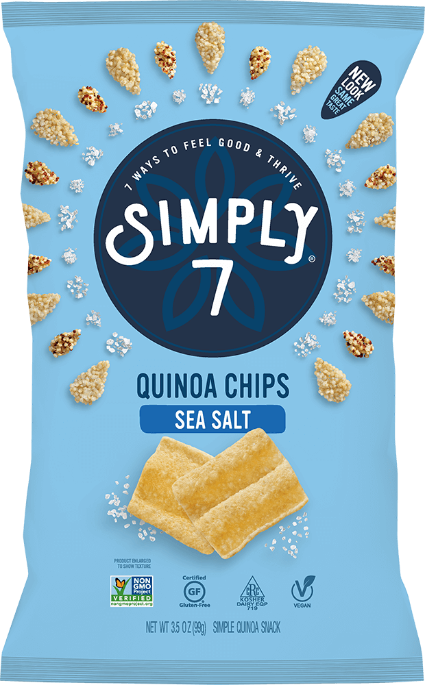 Sea Salt Quinoa Chips