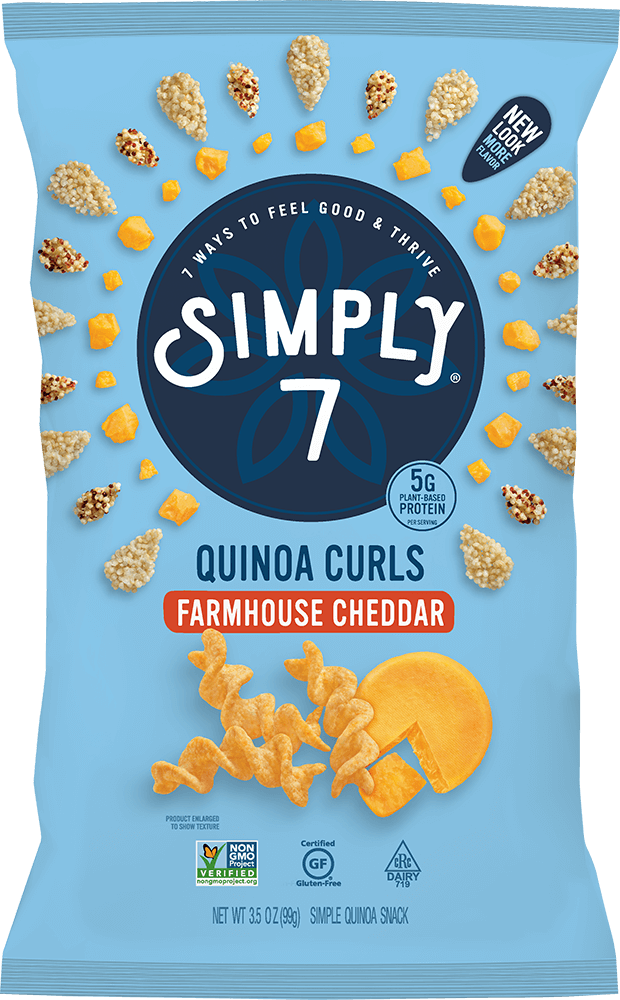 Farmhouse Cheddar Quinoa Curls