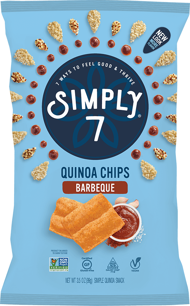 Barbeque Quinoa Chips