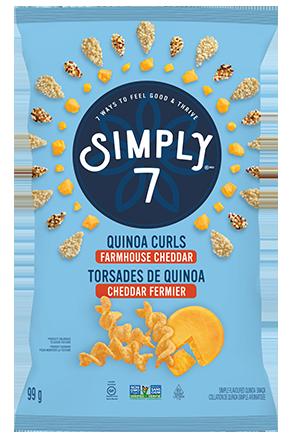 Quinoa Curls Cheddar